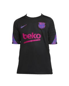 This is the new Barcelona kids dri-fit strike top, front view