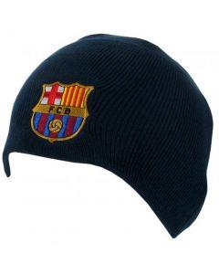 Barcelona Navy Beanie Hat
