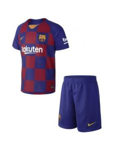 Barcelona Kids Home Kit 2019/20 (No Socks)