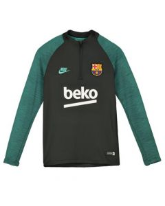 Barcelona Grey Kids Strike Drill Top 2019/20