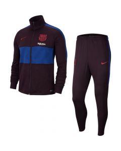 Barcelona Nike Strike Tracksuit Burgundy 2019/20