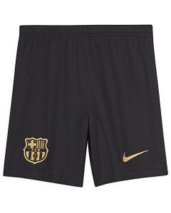 Barcelona Kids Away Shorts 2020/21