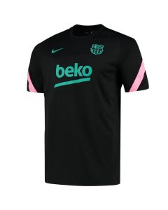 Barcelona Black Strike Training Jersey 2020/21