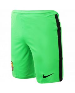 Barcelona Kids Green Goalkeeper Shorts 2020/21