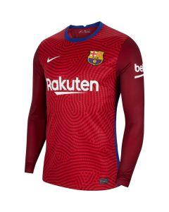 Barcelona Kids Red Goalkeeper Shirt 2020/21