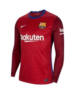 Barcelona Red Goalkeeper Shirt 2020/21