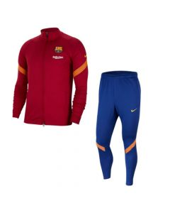 Barcelona Kids Red Strike Tracksuit 2020/21