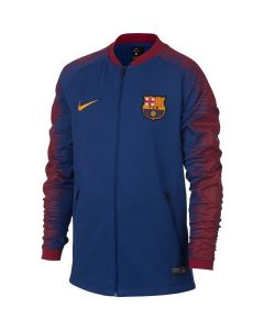 Barcelona Nike Navy Anthem Jacket 2018/19 (Kids)