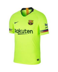 Barcelona Nike Authentic Away Shirt 2018/19 (Adults)