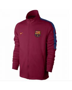Barcelona Kids Authentic Jacket 2017/18 (Red)