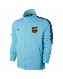 Barcelona Authentic Jacket 2017/18 (Blue)