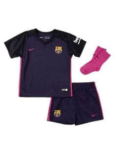 Barcelona Baby Away Football Kit 2016/17