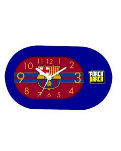 Barcelona Blue Table Clock