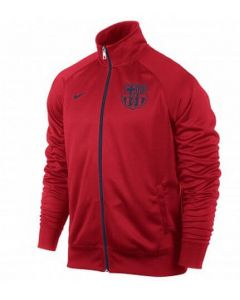 Barcelona Red Core Trainer Jacket