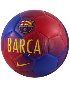 Barcelona FC Nike Prestige Football  (Red/Blue)