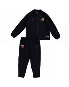 Barcelona Infant Squad Knit Tracksuit 2017/18 (Black)