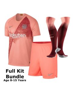 Barcelona Kids Third Kit Bundle 2018/19