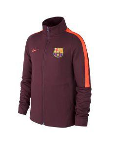 Barcelona Kids Authentic Jacket 2017/18 (Maroon)