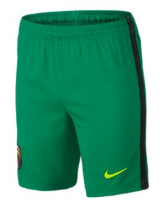 Barcelona Kids Away Goalkeeper Shorts 2016/17