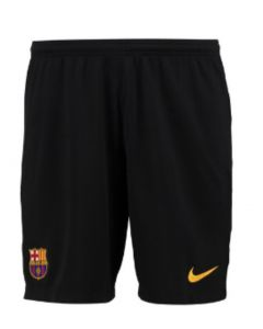 Barcelona Kids Away Goalkeeper Shorts 2017/18