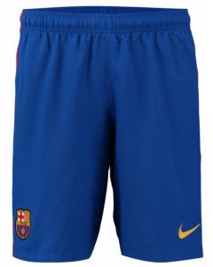 Barcelona Kids Home Football Shorts 2016-17