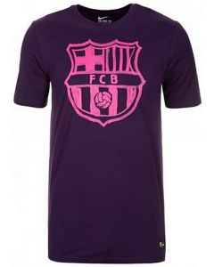 Barcelona Kids Nike Crest T-shirt 2016/17 (Purple)