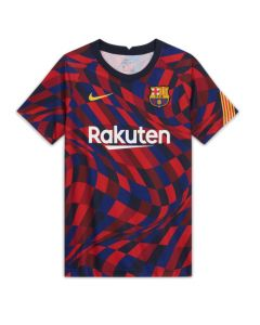 Barcelona kids 20/21 pre-match jersey (home)