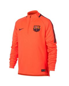 Barcelona Kids Squad Drill Top 2017/18 (Orange)