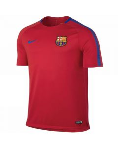 Barcelona Kids Squad Training Jersey 2017/18 (Red)