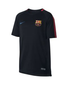 Barcelona Kids Squad Training Shirt 2017/18 (Black)
