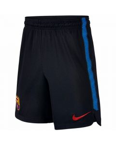 Barcelona Kids Squad Training Shorts 2017/18 (Black)