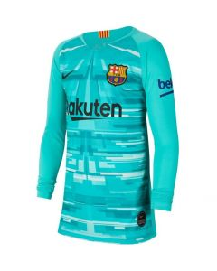 Barcelona Kids Stadium Goalkeeper Shirt 2019/20