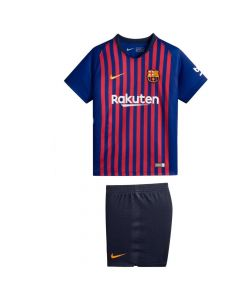 Barcelona Little Boys Football Kit Age 7-8 Years