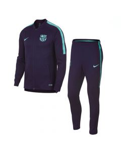 Barcelona Nike Squad Knit Purple Tracksuit 2018/19 (Adults)