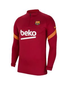 Barcelona red strike quarter zip 20/21