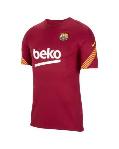 Barcelona red strike jersey 20/21