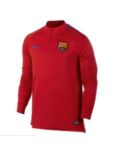 Barcelona Squad Drill Training Top 2017/18 (Red)