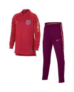 Barcelona Nike Squad Knit Pink Tracksuit 2018/19 (Kids)