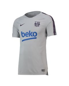 Barcelona Nike Grey Squad Training Jersey 2018/19 (Adults)