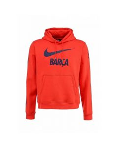 Barcelona Red Core Hoodie 2014/15