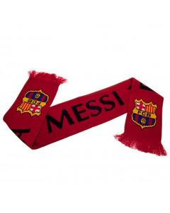 Barcelona Messi Knitted Scarf