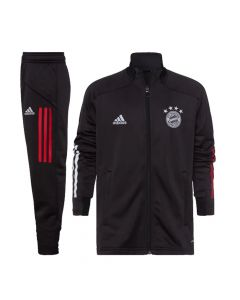 Bayern Munich Kids Black Tracksuit 2020/21