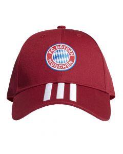 Front view of the new Adidas Bayern Munich baseball cap