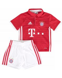 Bayern Munich Kids Home Football Kit 2016-17
