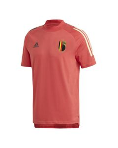Belgium Red Training T-shirt 2020/21