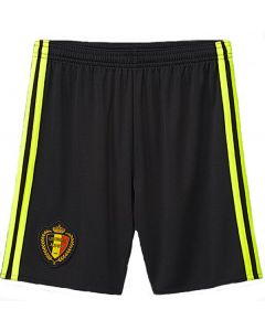 Belgium Kids Euro Home Shorts 2016/17