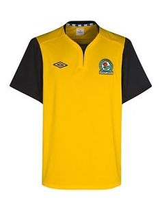 Blackburn Rovers Boys Away Soccer Jersey 2011-12