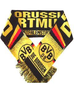 Borussia Dortmund Jacquard Scarf