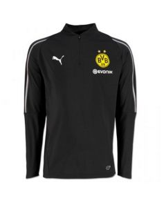 Borussia Dortmund Puma 1/4 Zip Training Top 2018/19 (Kids)