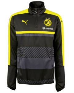 Borussia Dortmund 1/4 Zip Top 2016-17 (Black)